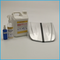 Car body and glass hydrophobic nano coating