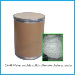 Sodium salt of an amino functional sulfonic acid
